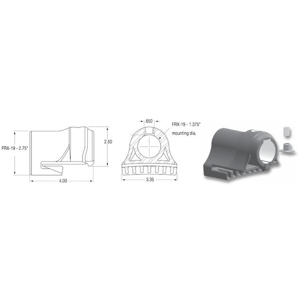 Replacement Slidetrax For Spray Master Fenders FRX-19 Fenders