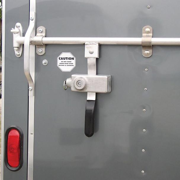 Trailer Door Lever Anti-Theft Lock - Default