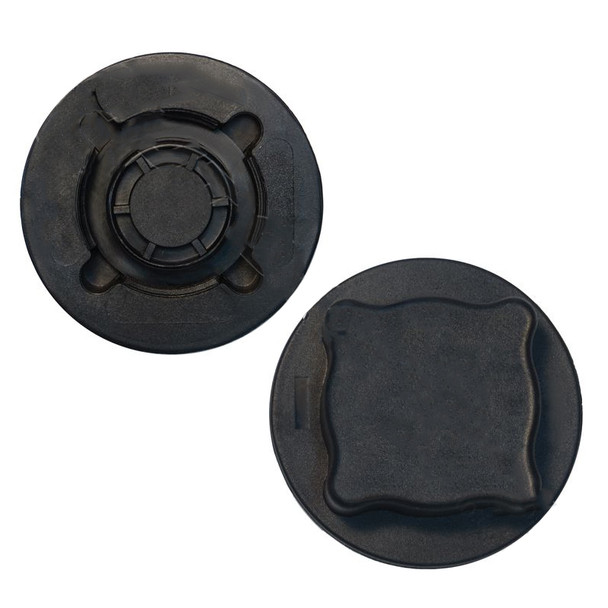 Volvo VNL Coolant Tank Cap 1674083 20517007 - Front And Back View