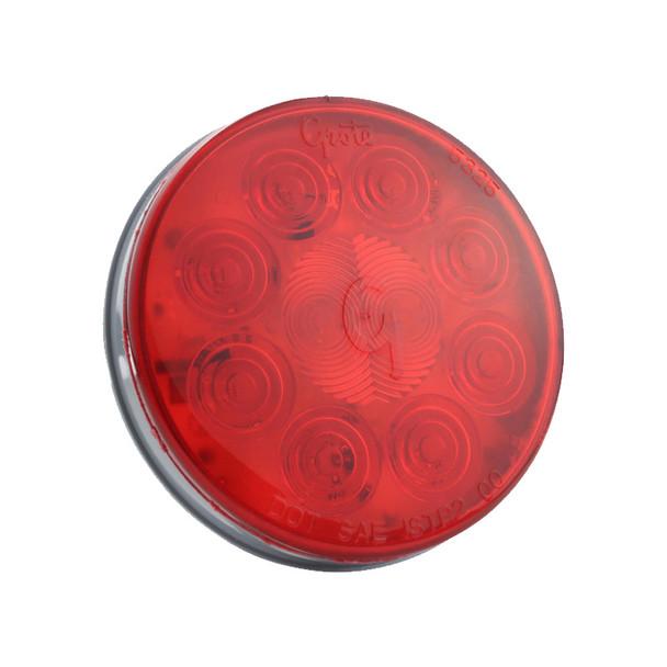 "Grote 4"" SuperNova Red LED STT Light - Default"