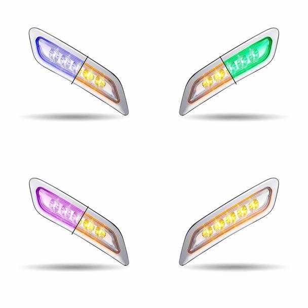 Peterbilt 567 579 587 Dual Revolution LED Door Light All Types