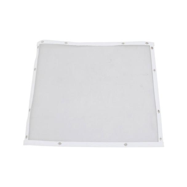 Peterbilt 379 Bug Screen Aluminum With Silver Mesh