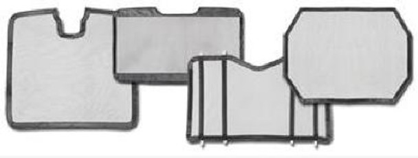 Western Star Hardware Turnbutton Kit For Winter Fronts And Belmor Bug Screens