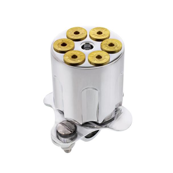 Gun Barrel Steering Wheel Spinner- Top