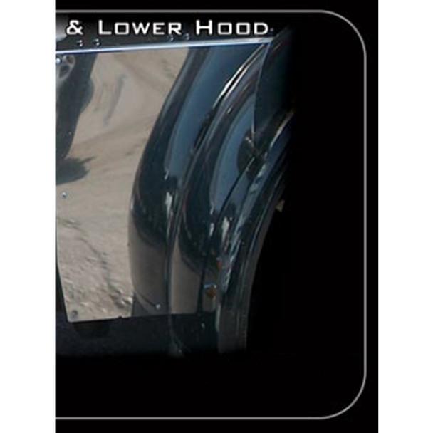 Peterbilt 379 Lower Hood Extension for Long Hood
