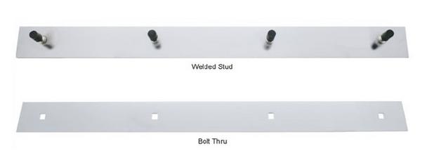 "Top Mud Flap Plate - 2"" X 24"""
