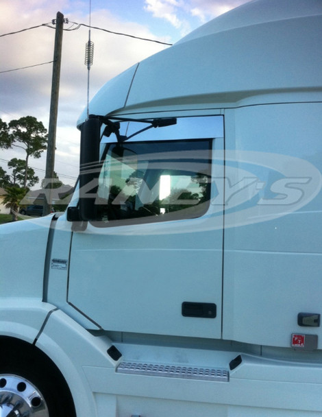 """Volvo VNL Series 5"""" Chop Top Stainless 2004 & Newer"""