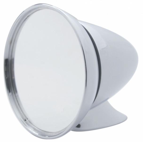 Universal Large Chrome GT Mirror