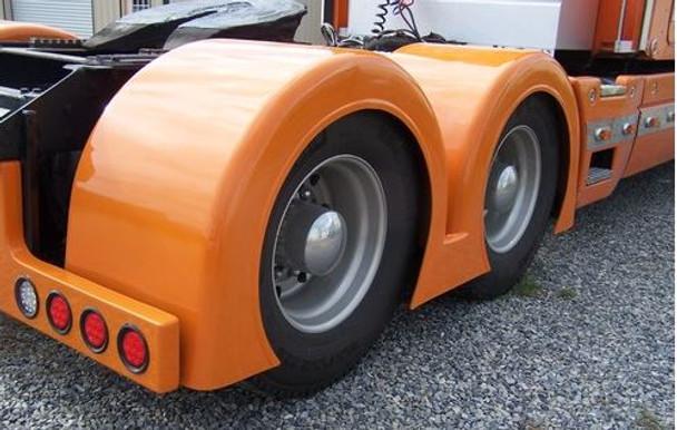 Low Cut Double Hump Rear Fenders Gangsta Style Talladega Fiberglass