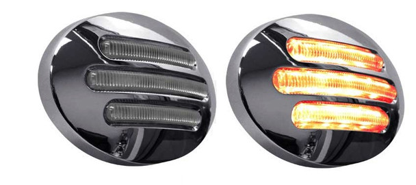 Small Clearance LED Marker Lights Flatline