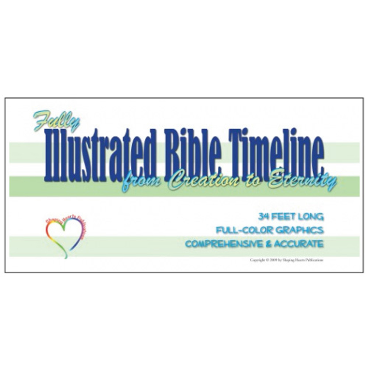 Shaping Hearts Fully Illustrated Bible Mini Timeline