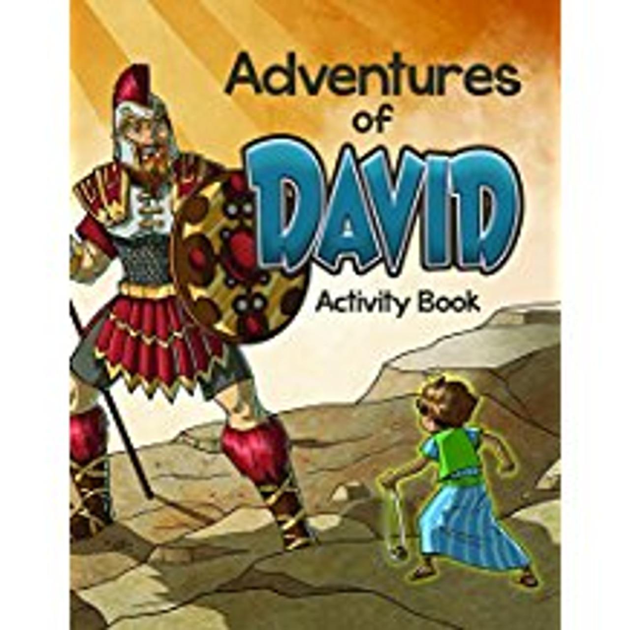 Coloring Activity Book - Adventures of David