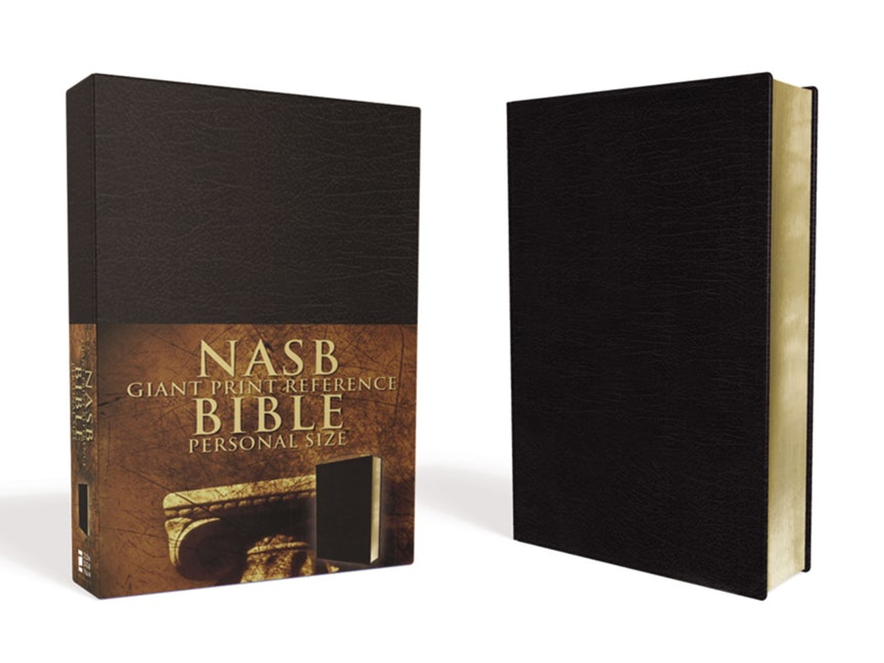 Bible NASB Personal Size Giant Print Reference Imitation Leather (Black)