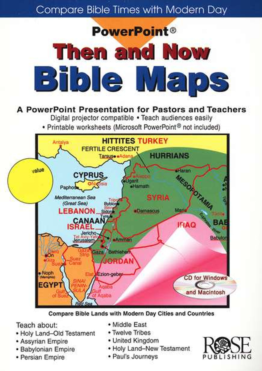 PowerPoint - Then and Now Bible Maps