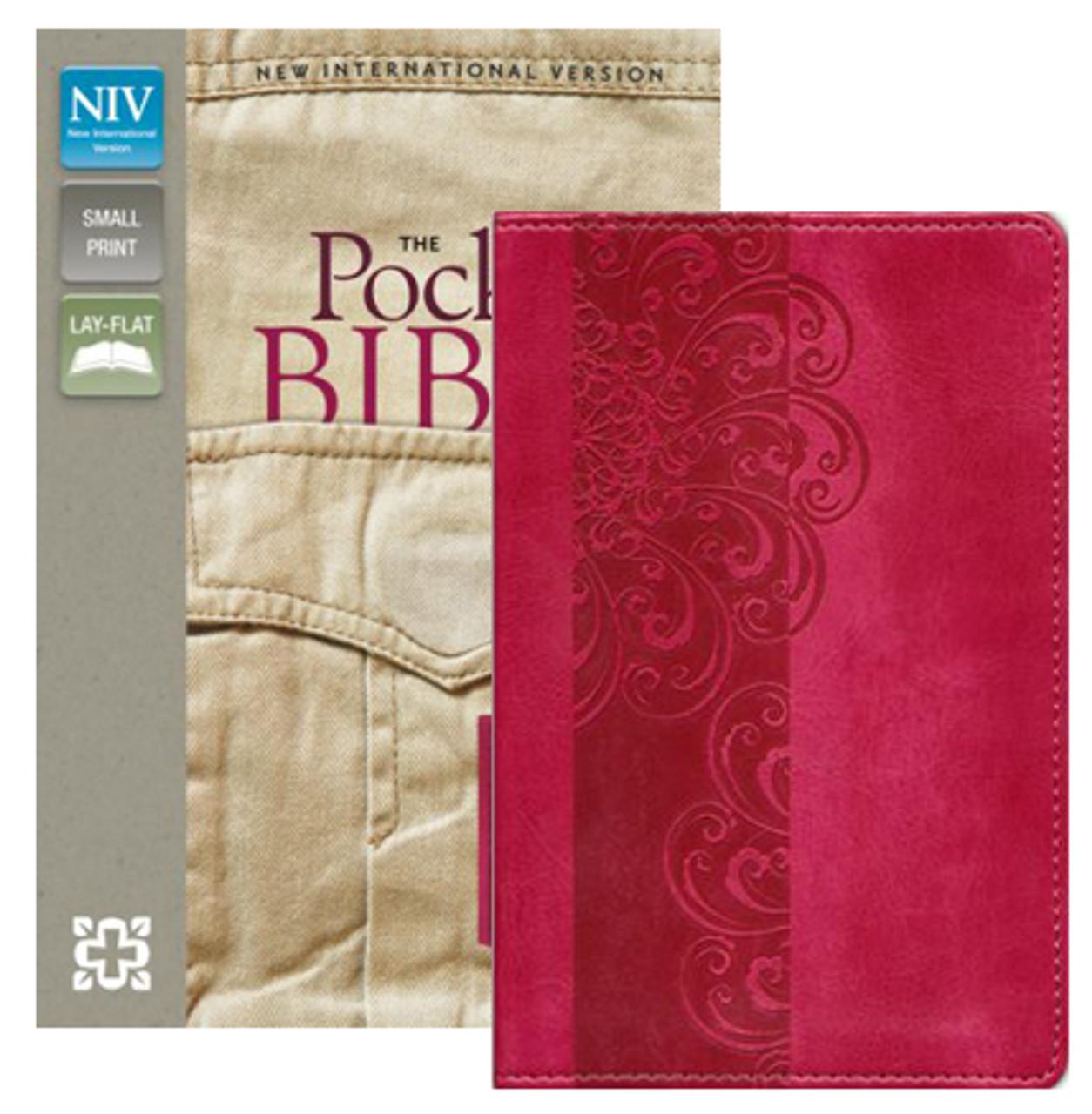 Bible NIV Pocket Bible Razzleberry