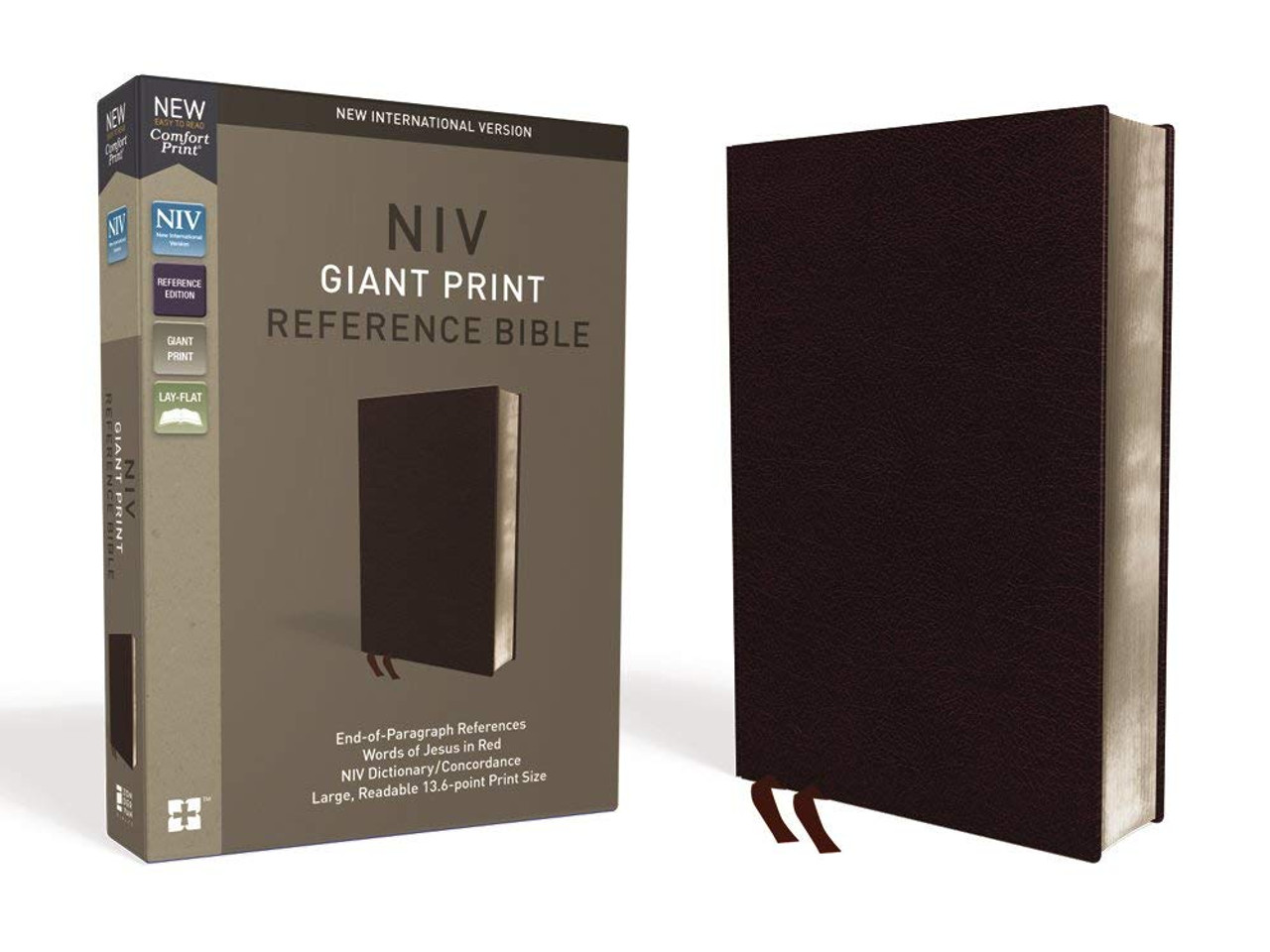 Bible NIV GP Ref Burgundy Bonded Indexed