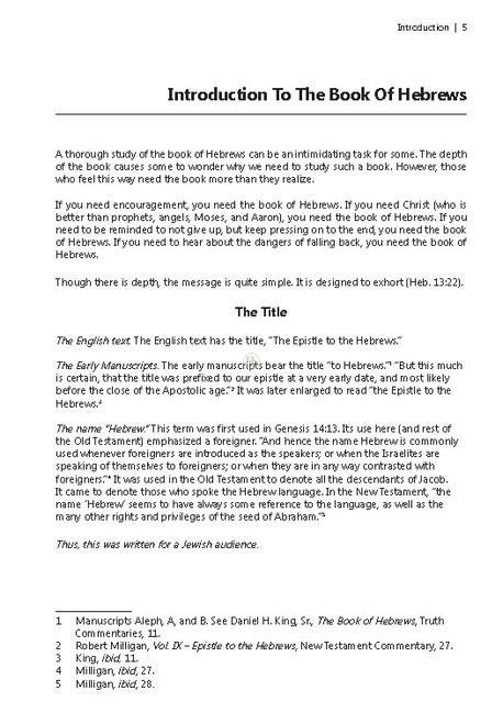 Hebrews (Rader)