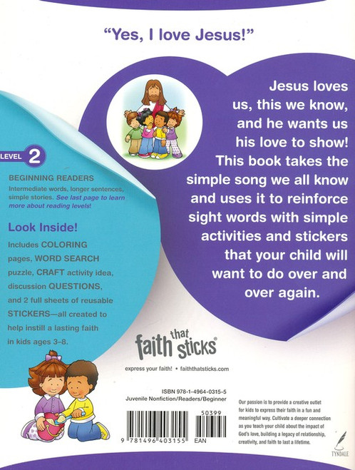 Jesus Loves Me Story & Activity Book