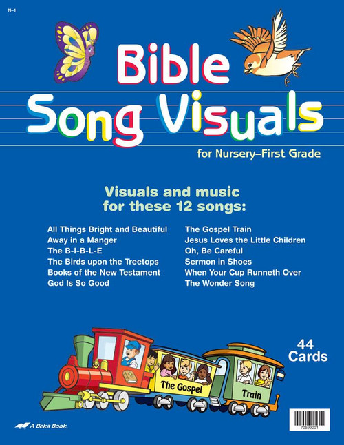 Abeka Mini Bible Memory Picture Cards CEI Bookstore