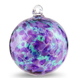 Purple, Lavender, and Emerald Green