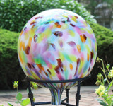 """""""Multi-Color"""" Over Opal Gazing Ball"""