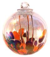 Medusa Spirit Ball, Opal Orange & Opal Black