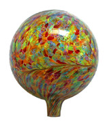 "Glass Gazing Ball ""Multicolor"" 12 Inch"