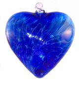 "Large Heart ""Sari Blue"""