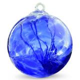 Witch Ball Sari Blue