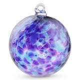 Purple & Blue 3 Inch Kugel