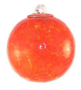Small Witch Ball Orange