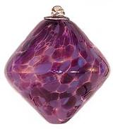 Lavender & Purple Rhombus Kugel