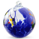 """Witch Ball """"Circus Blue"""""""