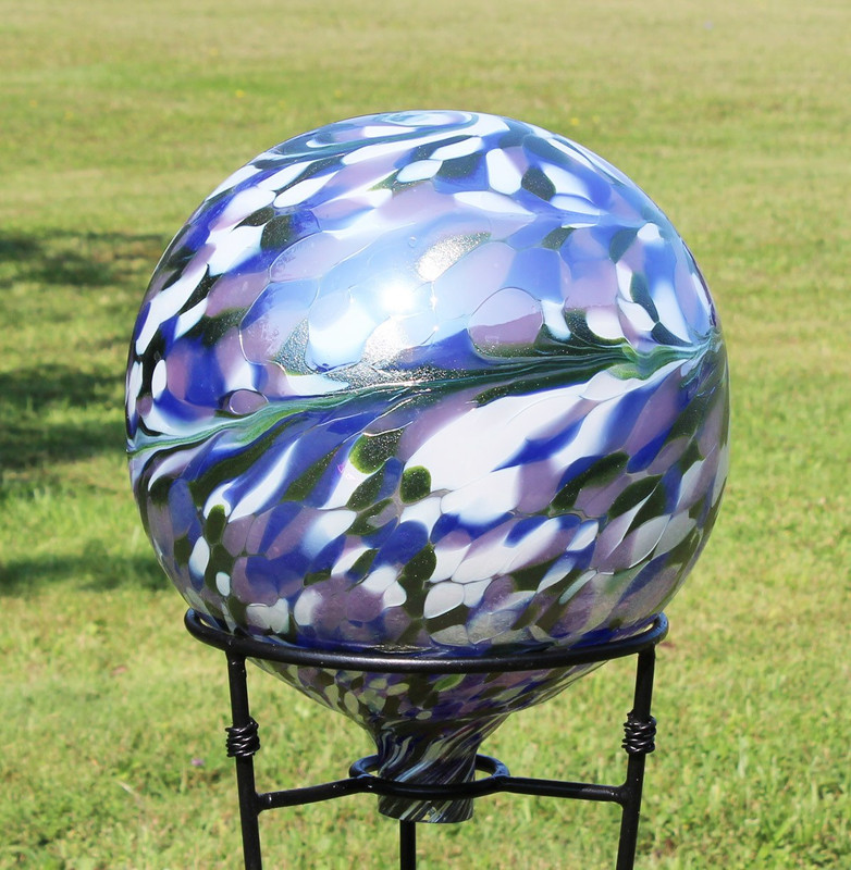 Garden View Gazing Ball II (color outside)