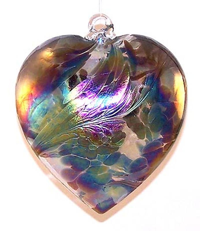 "Abalone Heart ""Black Ice"""
