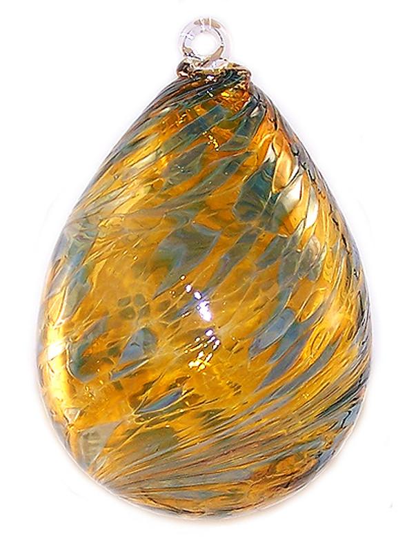 "Double Bubble Glass Aroma Friendship Ball ""Arcola"""