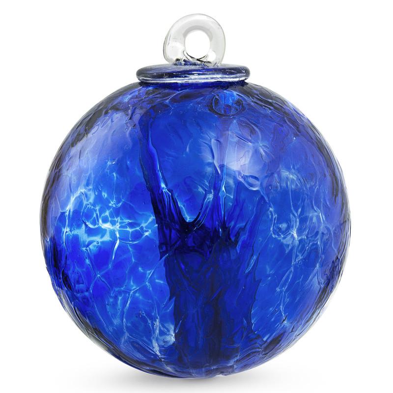 Small Witch Ball Sari Blue