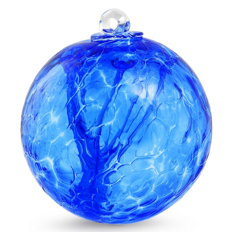 Witch Ball Light Blue