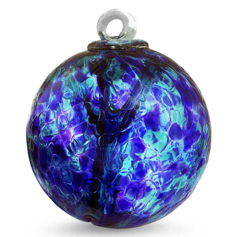 """Small Witch Ball """"Courage"""""""