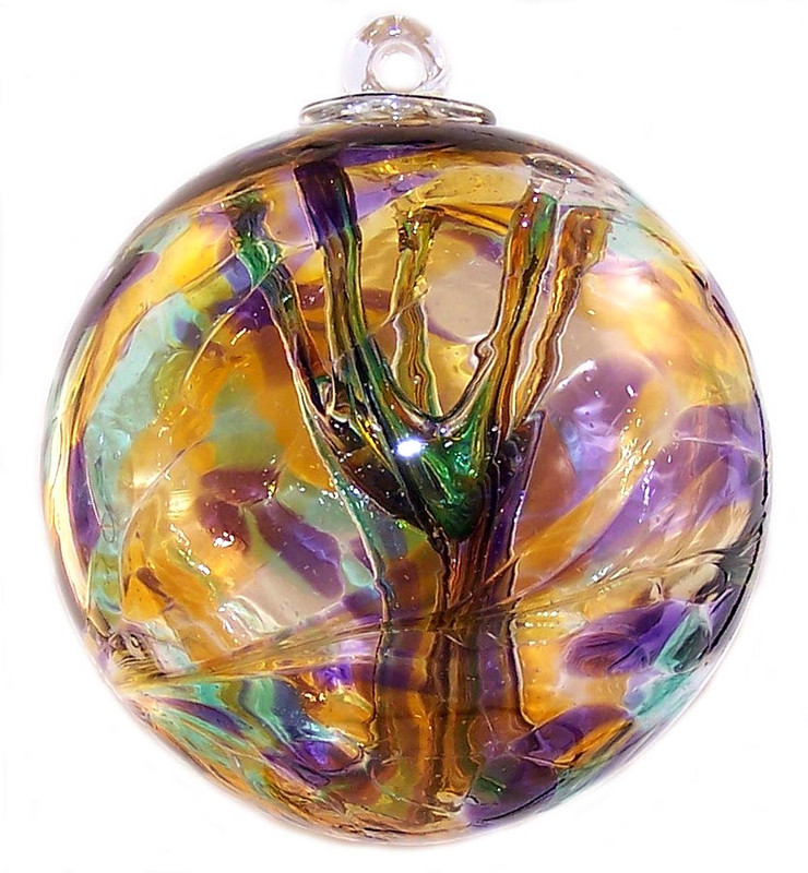 "Witch Ball ""Serenity"""