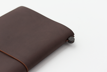 Traveler's Notebook | Regular | Brown Leather Cover, Refill & accessories