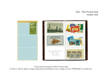 Traveler's Notebook, Regular, Accessories, Film Pocket Seal 023