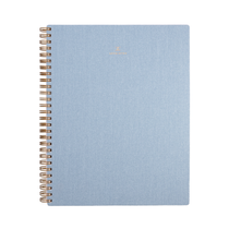 Appointed, Spiral Notebook, B5, Chambray