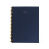 Appointed, Spiral Workbook, Medium, Navy