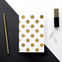 Seeso Graphics Blank Notebook | Gold Spots