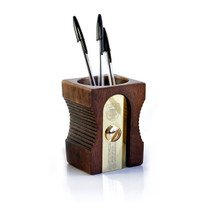 Suck UK, Sharpener Desk Tidy Range | Dark Stain