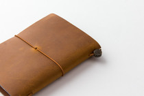 The stunning colour of the Camel Traveler's Notebook