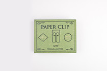 The Owl Tools to LiveBy Paper Clips come in this lovely green matchbox