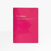 Delfonics Rollbahn Slim Notebook, Grid, B5, Rose Pink