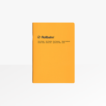 The Delfonics Slim A5 Grid Notebook in Yellow is  designed for quick notes and handbags.